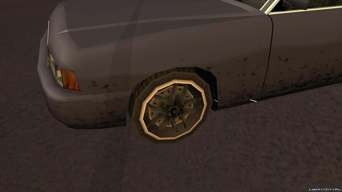 Wheels from NFS Underground 2 SA Style для GTA San Andreas - скриншот #13