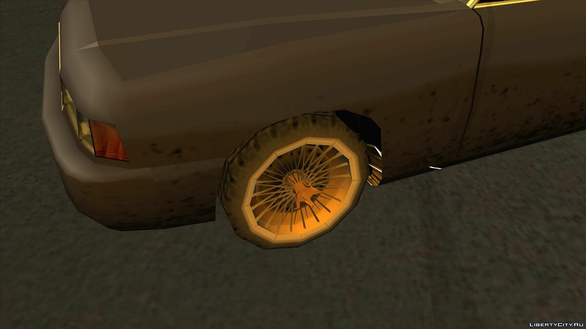 Wheels from NFS Underground 2 SA Style для GTA San Andreas - скриншот #11
