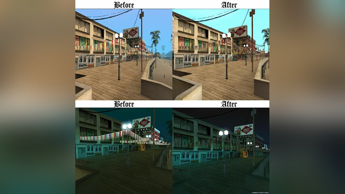 Vertex Colour Fixes + Improvements для GTA San Andreas - скриншот #2