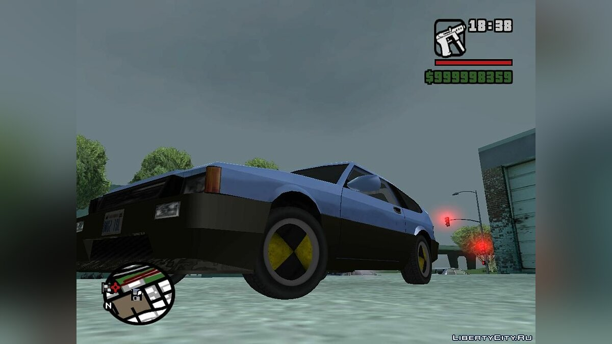 Crash Test Rims для GTA San Andreas