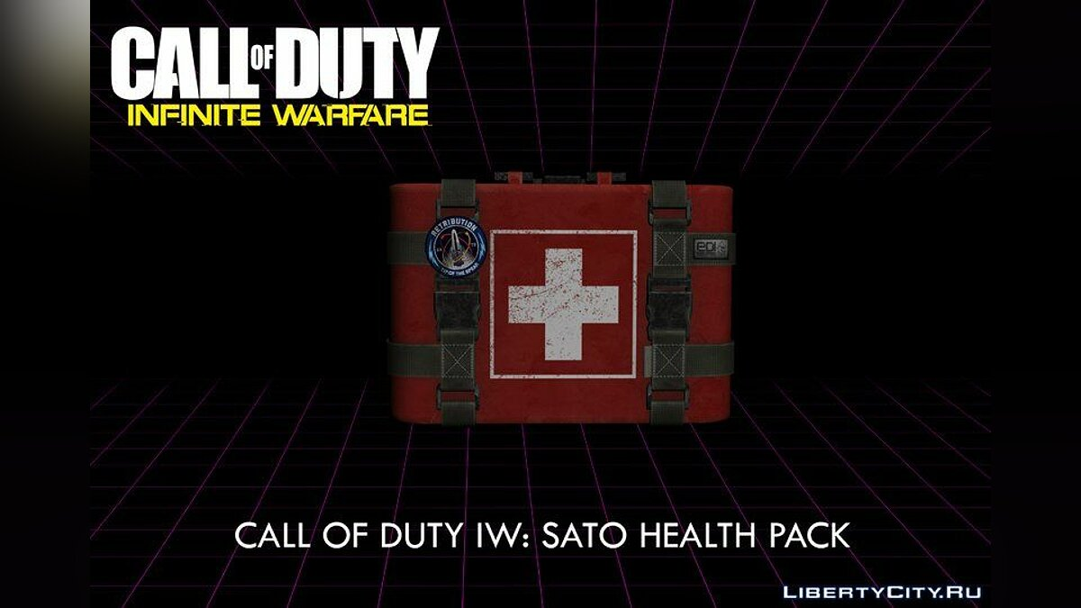 Мод COD: IW: SATO First Aid Kit - Аптечка из Call of Duty для GTA San Andreas