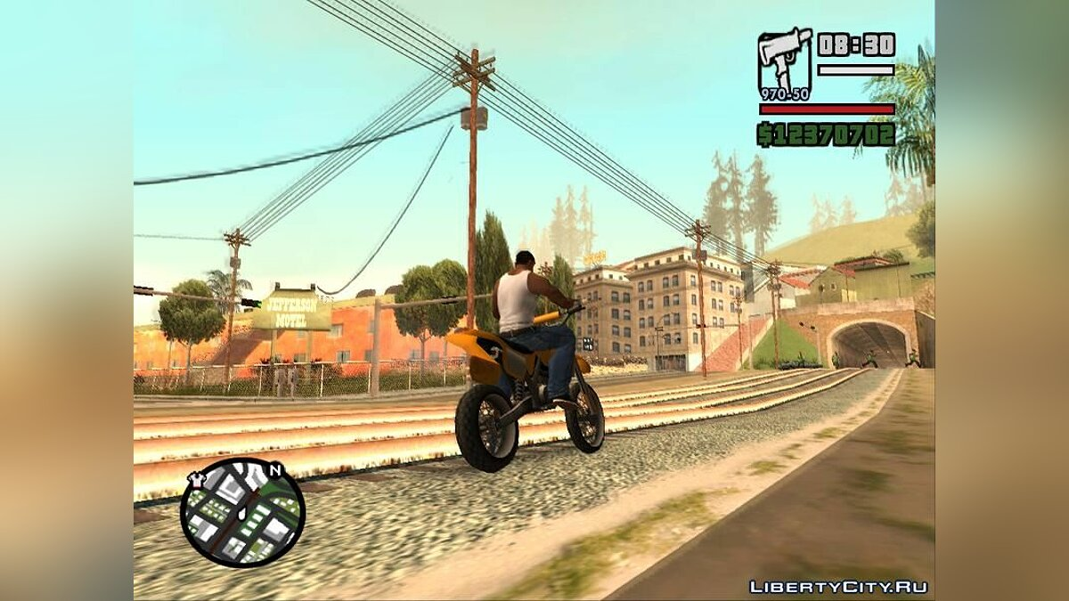 ��од Beta Radar In Grey для GTA San Andreas