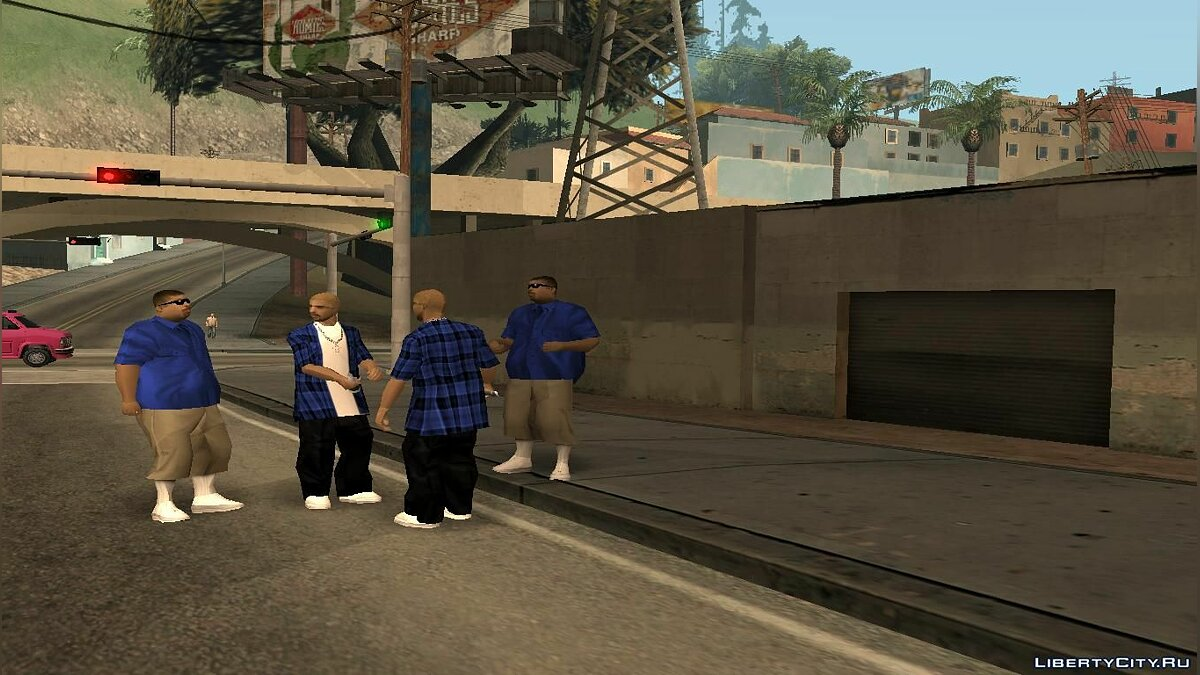 Glen Park Locos для GTA San Andreas
