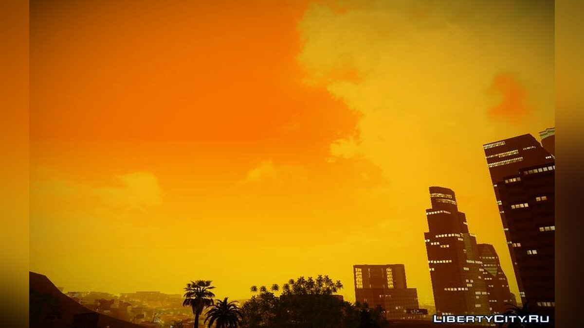 SkyBox Arrange - Real Clouds and Stars для GTA San Andreas - скриншот #3