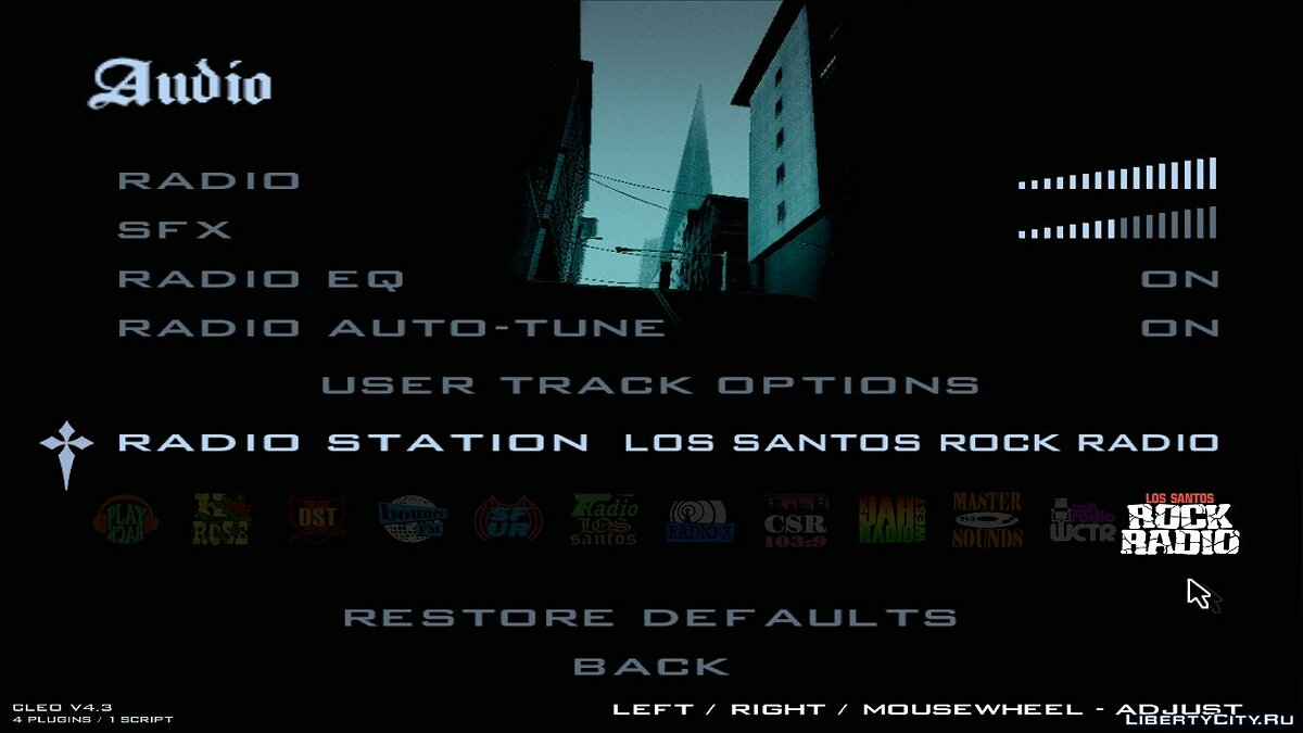Los Santos Rock Radio для GTA San Andreas
