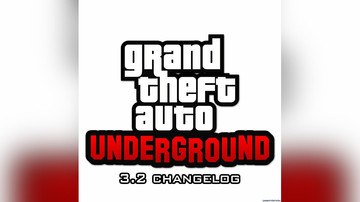 ��од GTA: Underground Snapshot 3.2 | Patch для GTA San Andreas