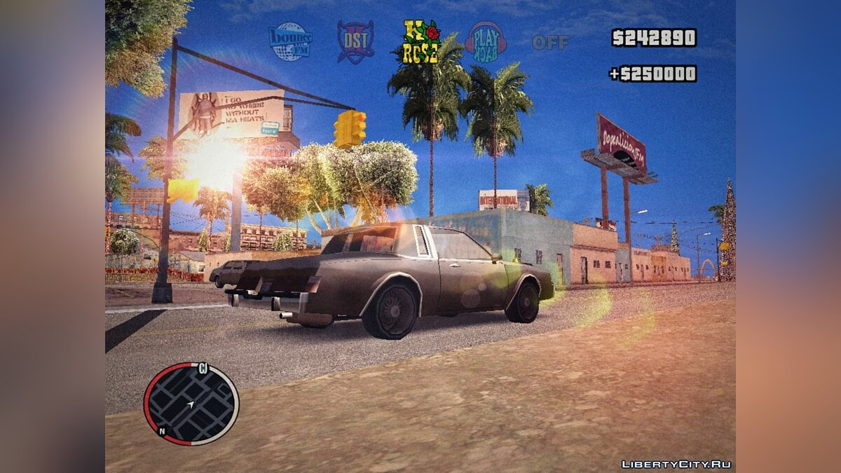 GTA IV HUD by JIO6STEP v1.2 для GTA San Andreas - скриншот #2