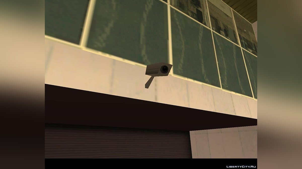 CCTV camera for DYOM [smashable version] для GTA San Andreas - скриншот #3
