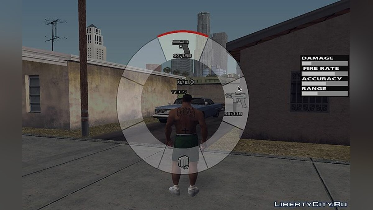 Мод GTA V HUD SA Edition (Retextured by JIO6STEP v1.2) для GTA San Andreas