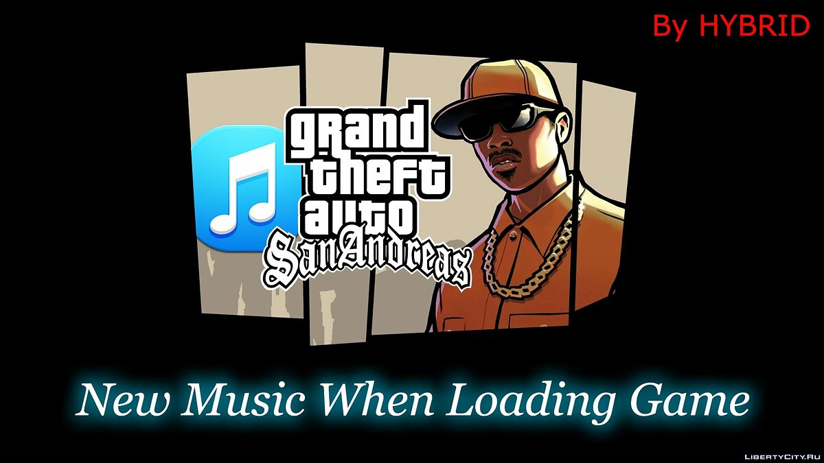New Music When Loading Game для GTA San Andreas