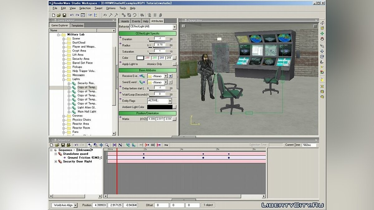 RenderWare Studio SDK v3.7 для GTA San Andreas
