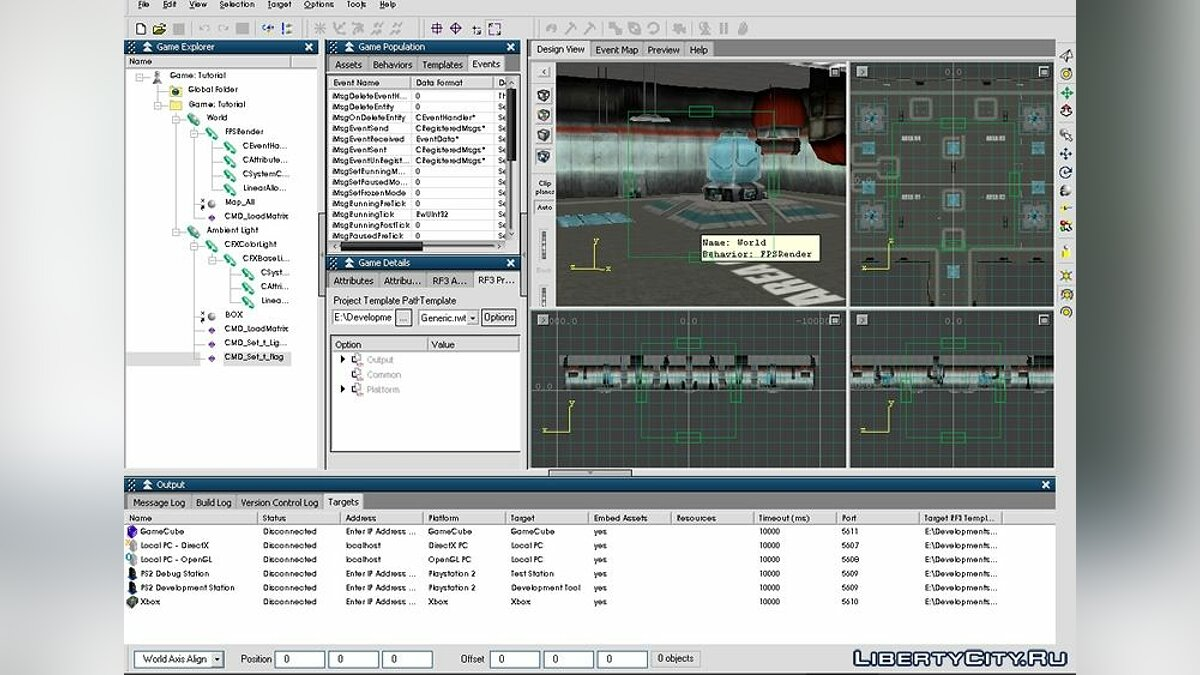 RenderWare Studio SDK v3.7 для GTA San Andreas - скриншот #4
