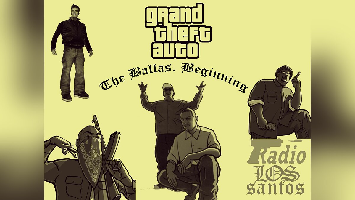 The Ballas. Beginning для GTA San Andreas