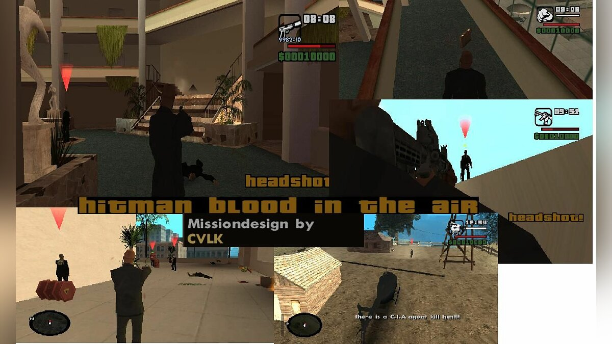 Hitman Blood in the Air для GTA San Andreas