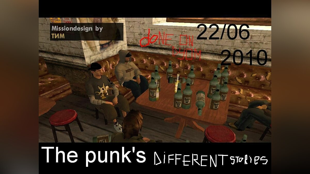 The punk`s - different stories для GTA San Andreas