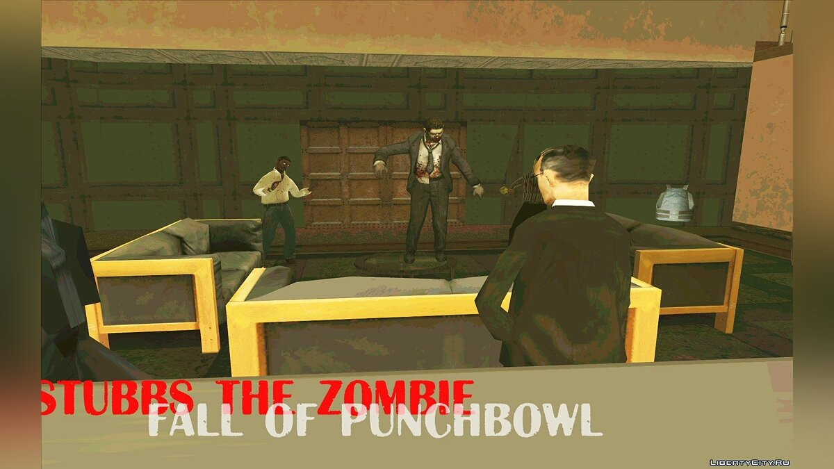 Stubbs The Zombie: Fall of Punchbowl для GTA San Andreas - скриншот #2