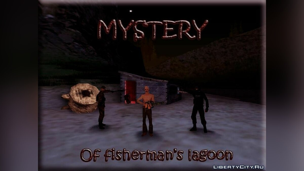 Mystery Of Fisherman's Lagoon для GTA San Andreas