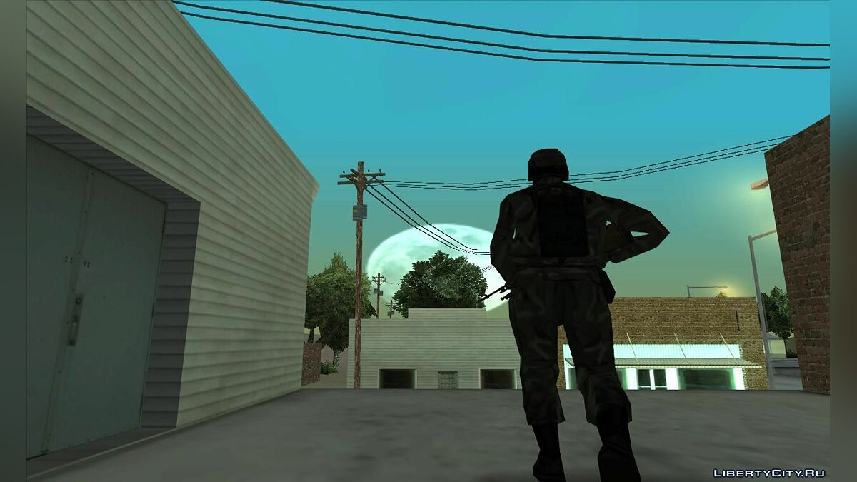 Новая миссия Marines of Francisco - Undead Rising для GTA San Andreas