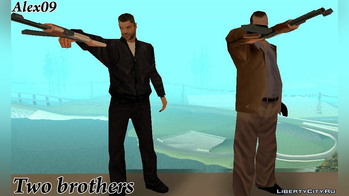Two brothers [DYOM] для GTA San Andreas