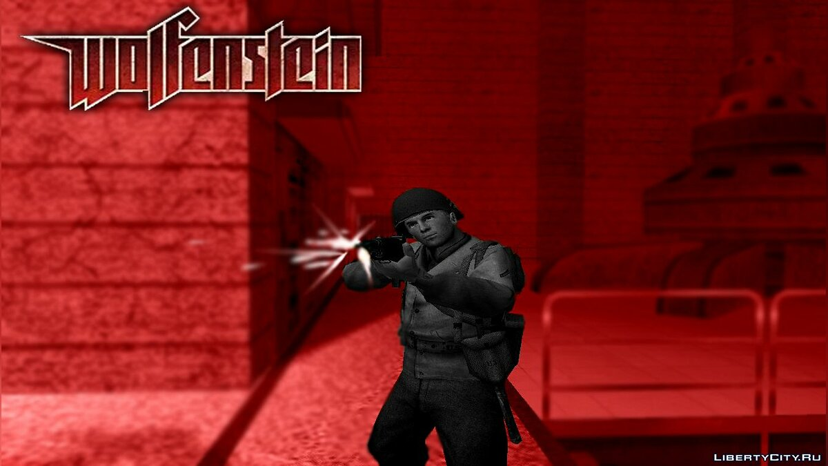 Wolfenstein - Return to Castle для GTA San Andreas