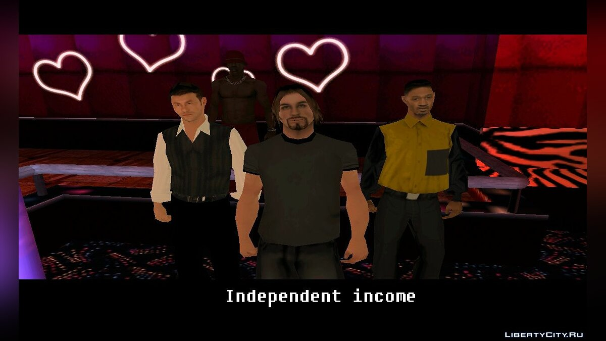 Independent income для GTA San Andreas