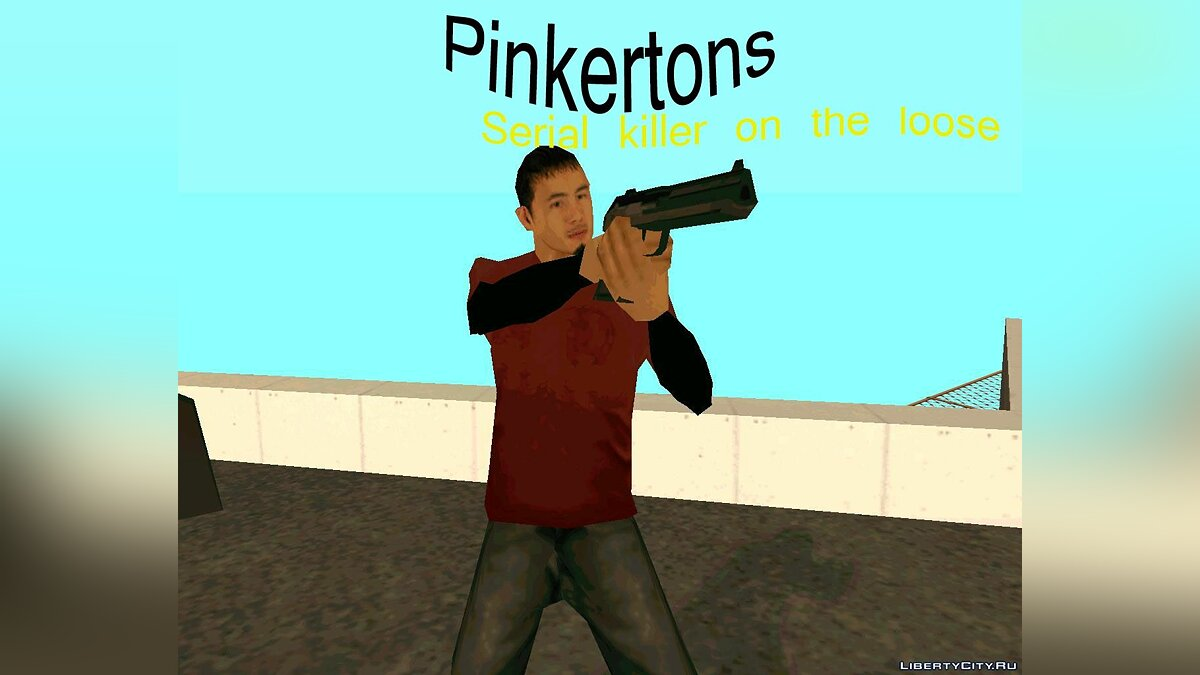 Pinkertons:Serial killer on the loose для GTA San Andreas