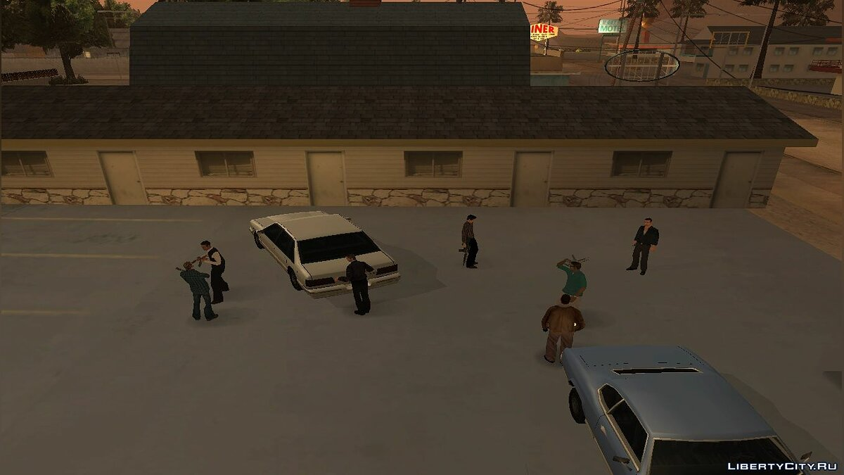 Новая миссия The Road To Mexico для GTA San Andreas