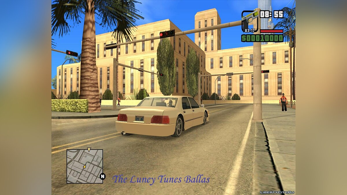 The Luney Tunes Ballas для GTA San Andreas