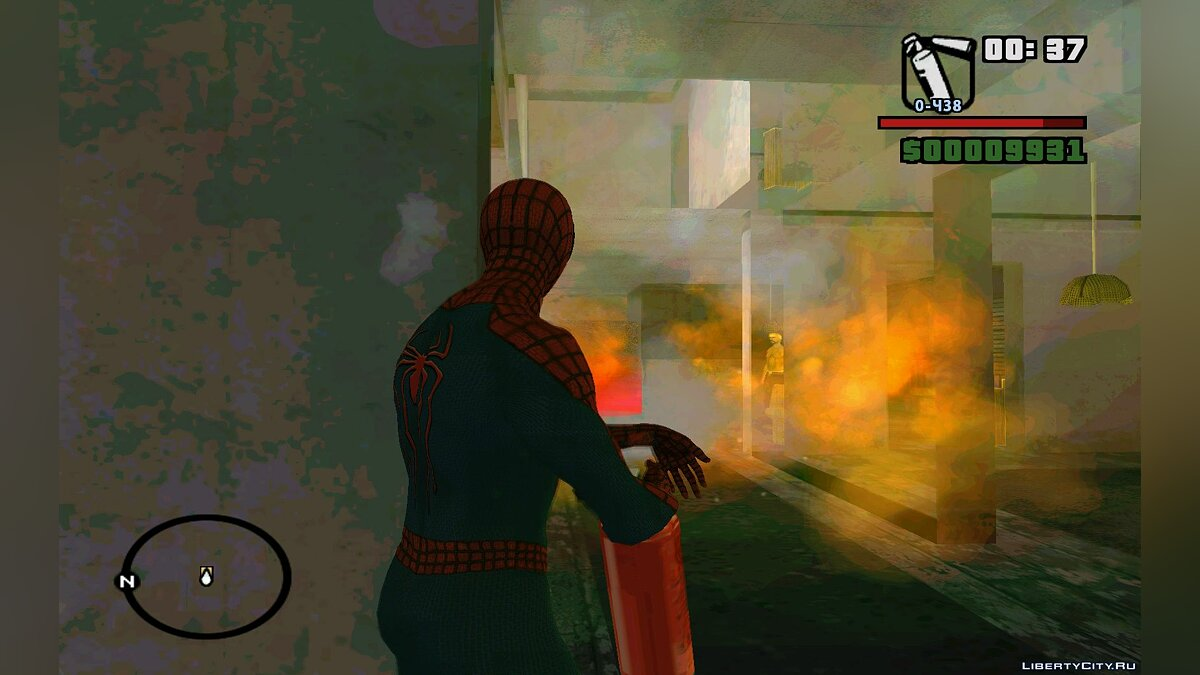 The Amazing Spider-Man | По следу убийцы | Часть 1 для GTA San Andreas - скриншот #3