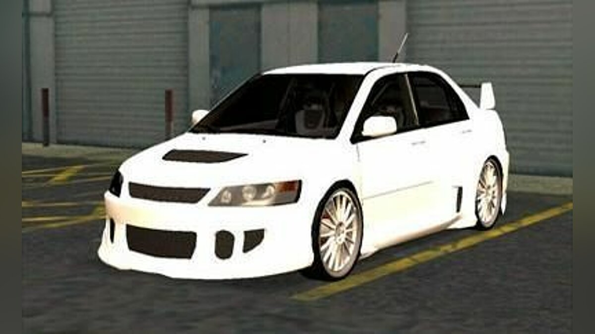 Mitsubishi Lancer EVO 9 Wide Body v2 для GTA San Andreas