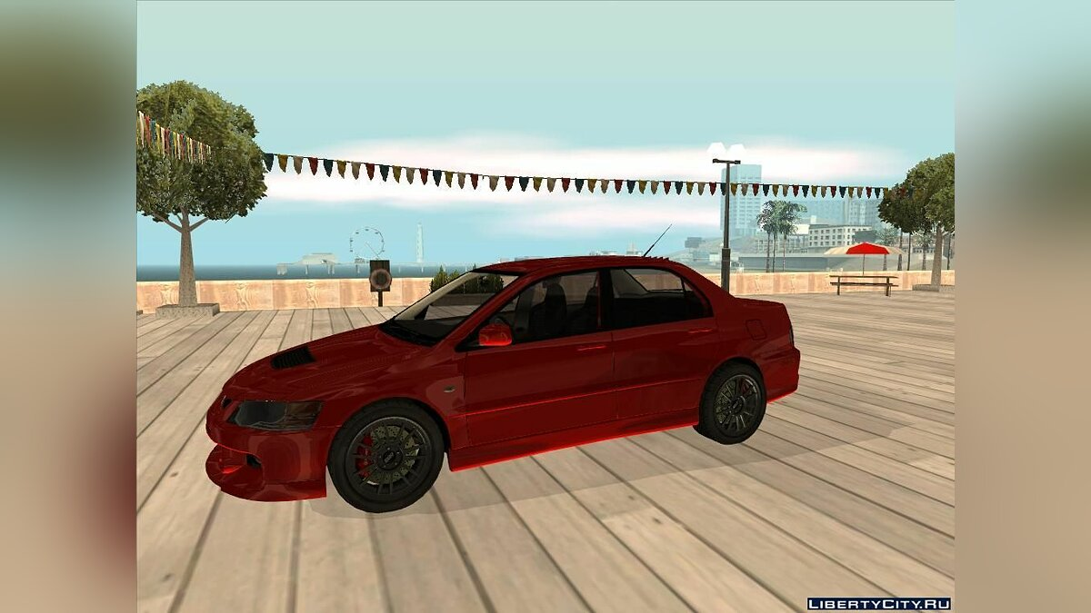Mitsubishi Lancer Evolution IX MR Edition 2005 для GTA San Andreas