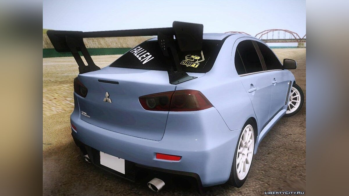 Mitsubishi Lancer Evolution Drift Edition для GTA San Andreas