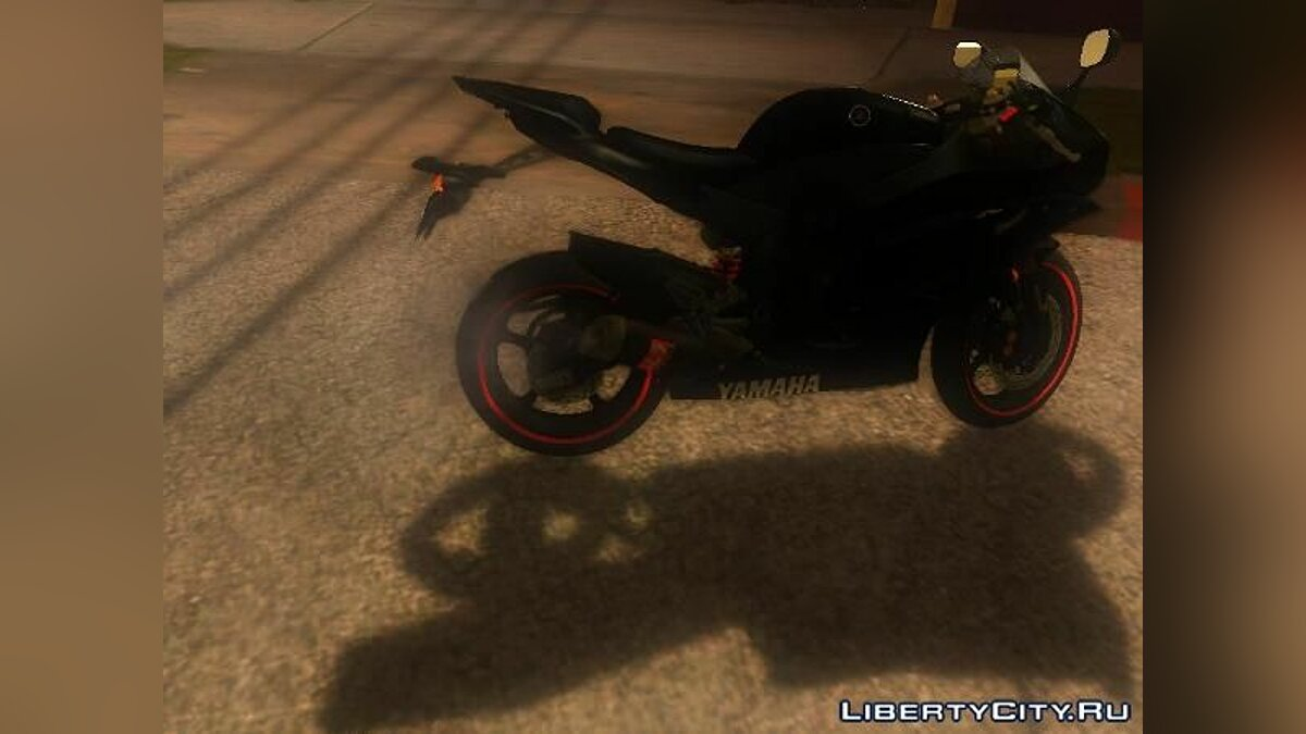 Yamaha R25 Black Edition для GTA San Andreas - скриншот #4