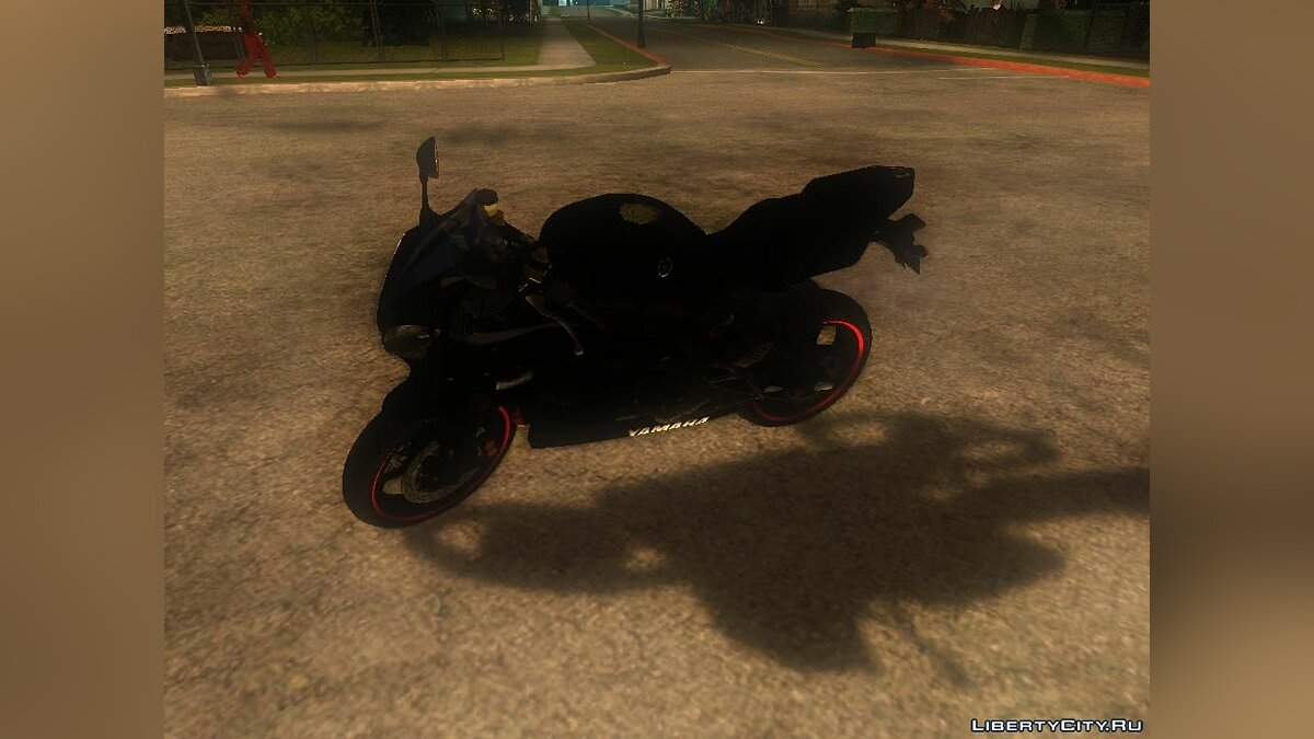 Yamaha R25 Black Edition для GTA San Andreas