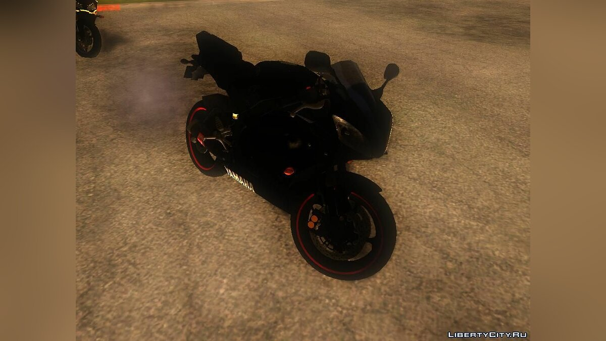 Yamaha R25 Black Edition для GTA San Andreas - скриншот #5