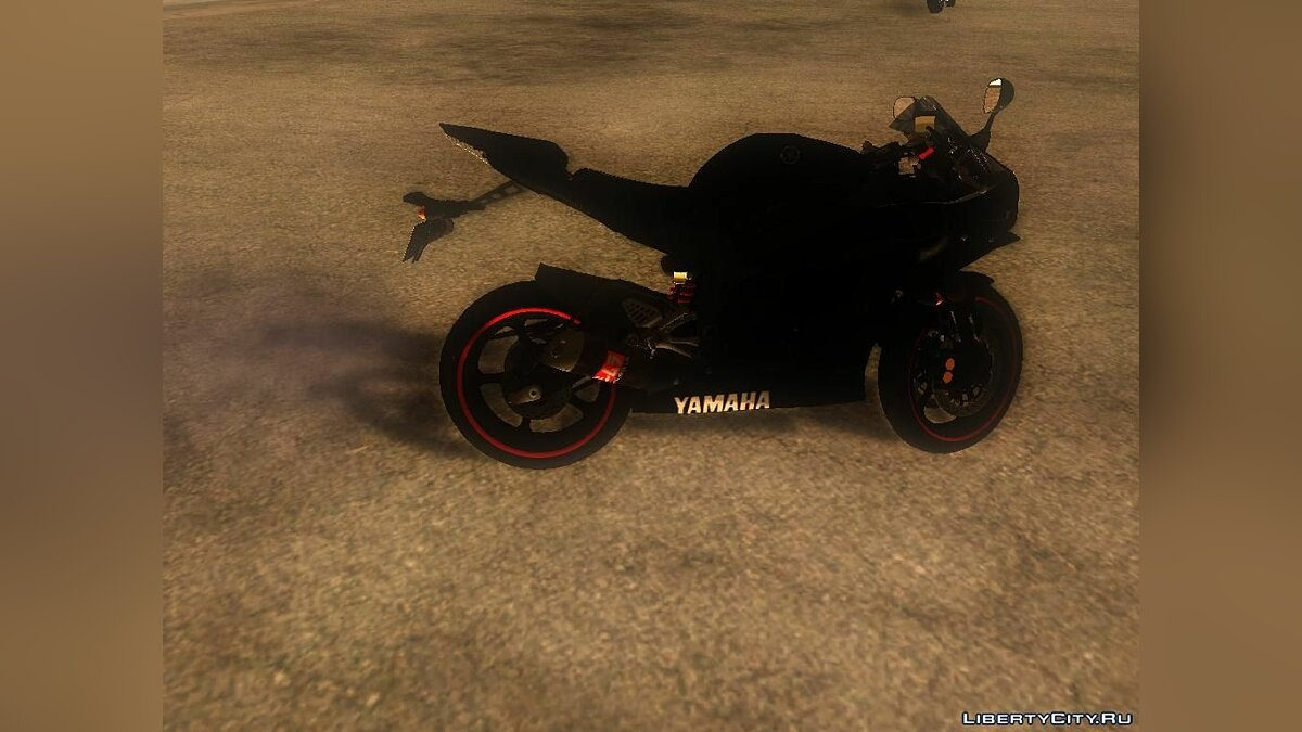 Yamaha R25 Black Edition для GTA San Andreas - скриншот #6