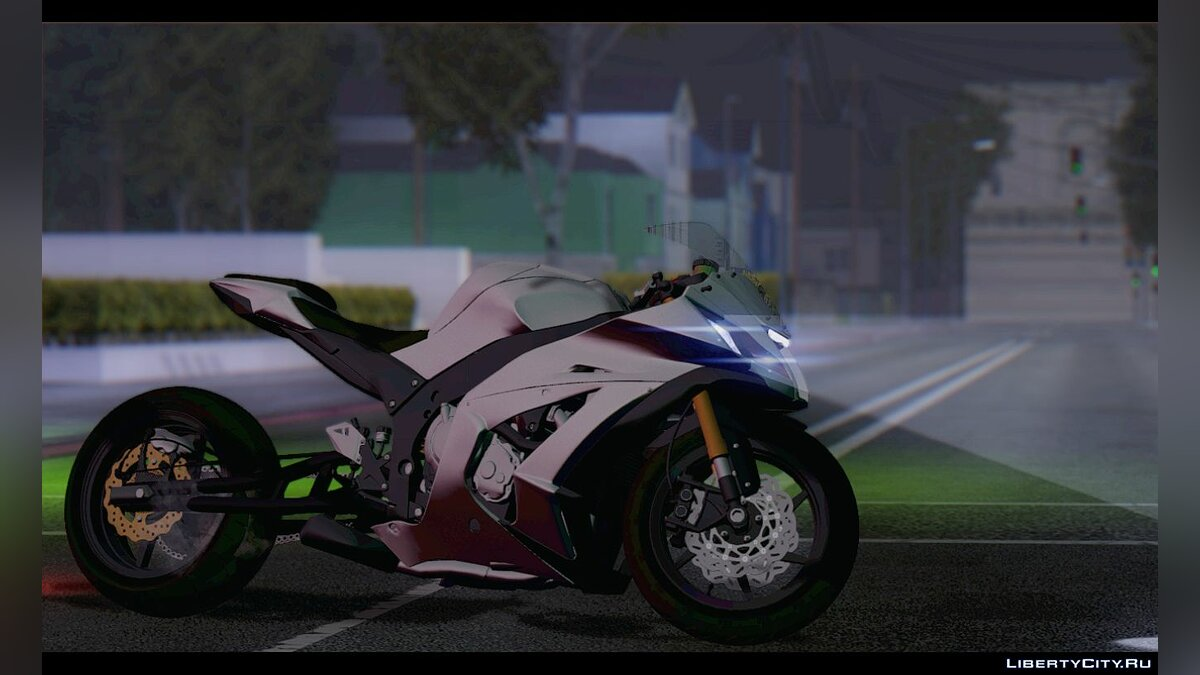 Мотоцикл Kawasaki ZX-10R '15 Drag Version для GTA San Andreas