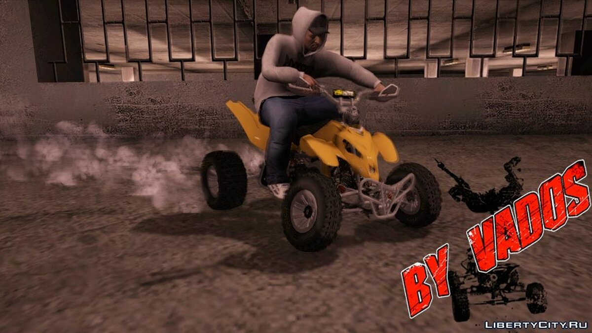 Quad bikes v1.2 (from the game Pure) для GTA San Andreas - скриншот #7