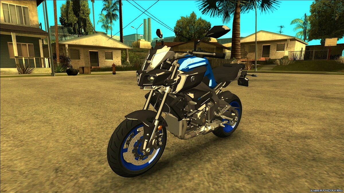 Мотоцикл [2016] YAMAHA MT10 ABS для GTA San Andreas
