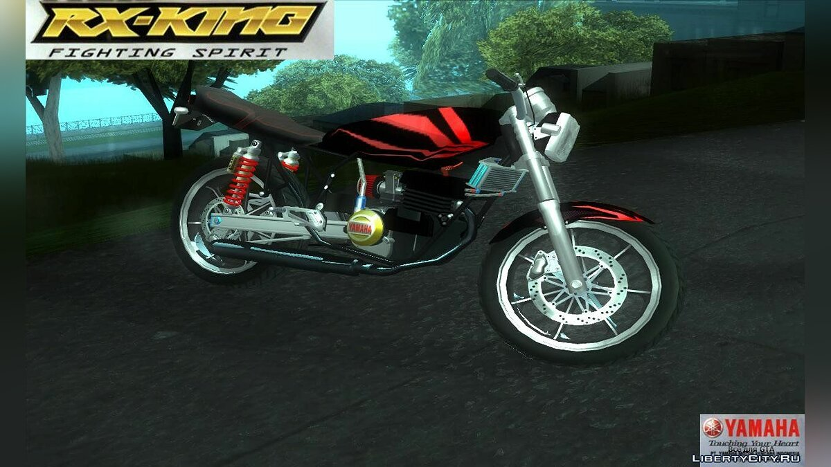 Yamaha RX King Indonesia для GTA San Andreas