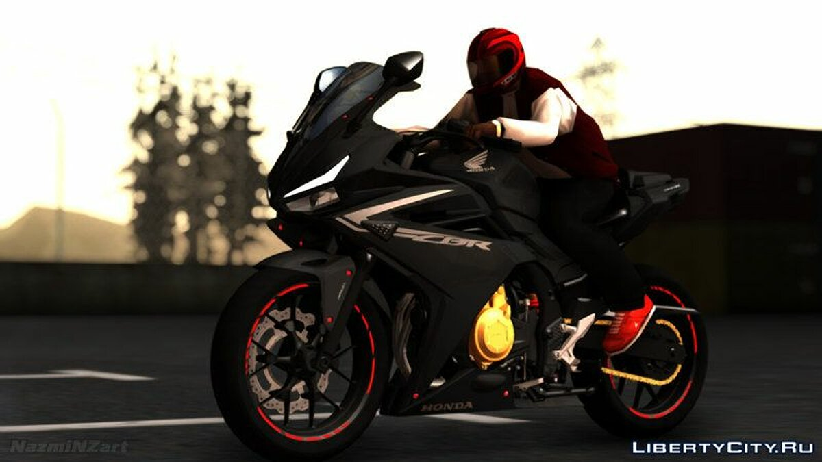 Мотоцикл 2016 Honda CBR 500R Modified для GTA San Andreas
