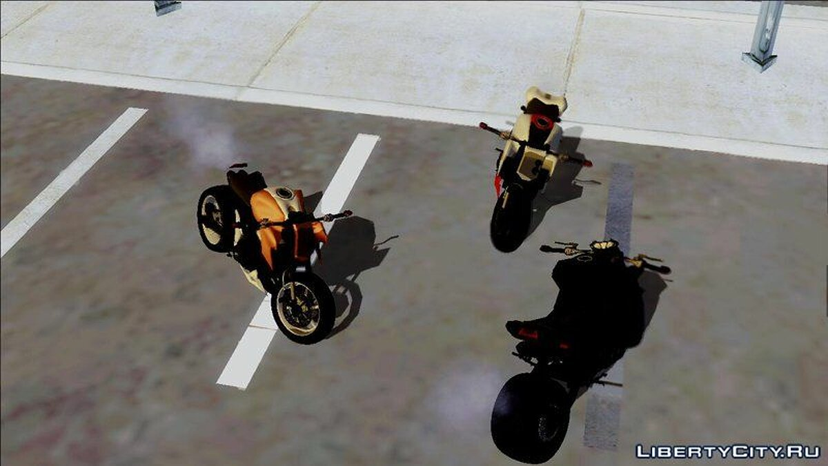 ��отоцикл Kawasaki Z800 Street Fighter для GTA San Andreas