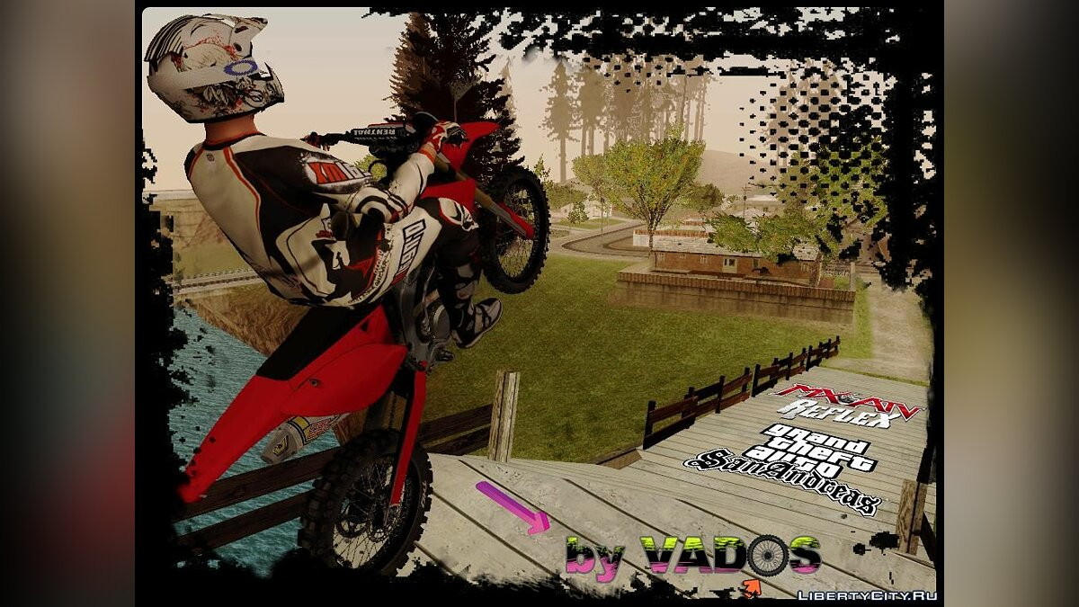 Bike of the MX vs ATV Reflex для GTA San Andreas