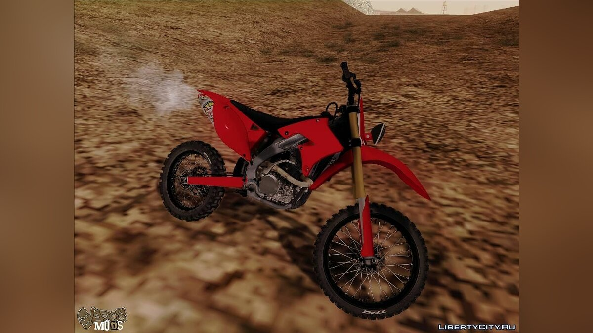 Bike of the MX vs ATV Reflex для GTA San Andreas - скриншот #5