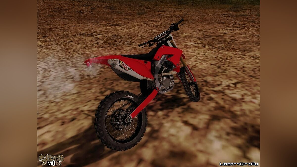 Bike of the MX vs ATV Reflex для GTA San Andreas - скриншот #4