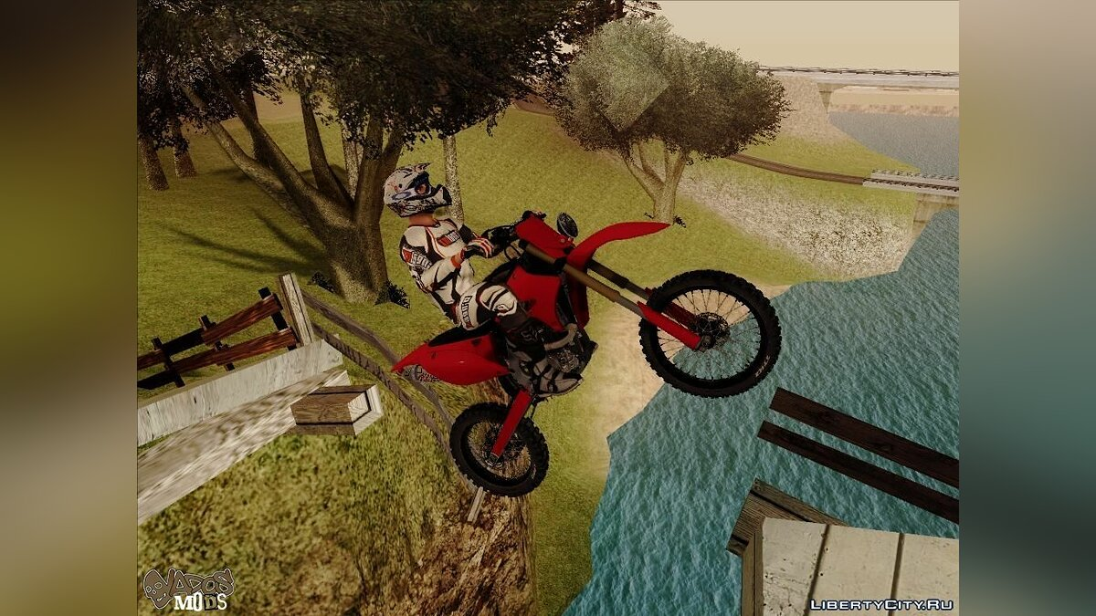 Bike of the MX vs ATV Reflex для GTA San Andreas - скриншот #6