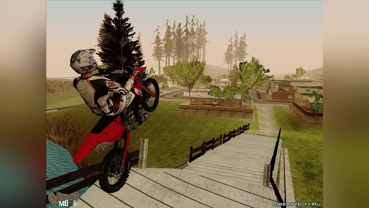 Bike of the MX vs ATV Reflex для GTA San Andreas - скриншот #7
