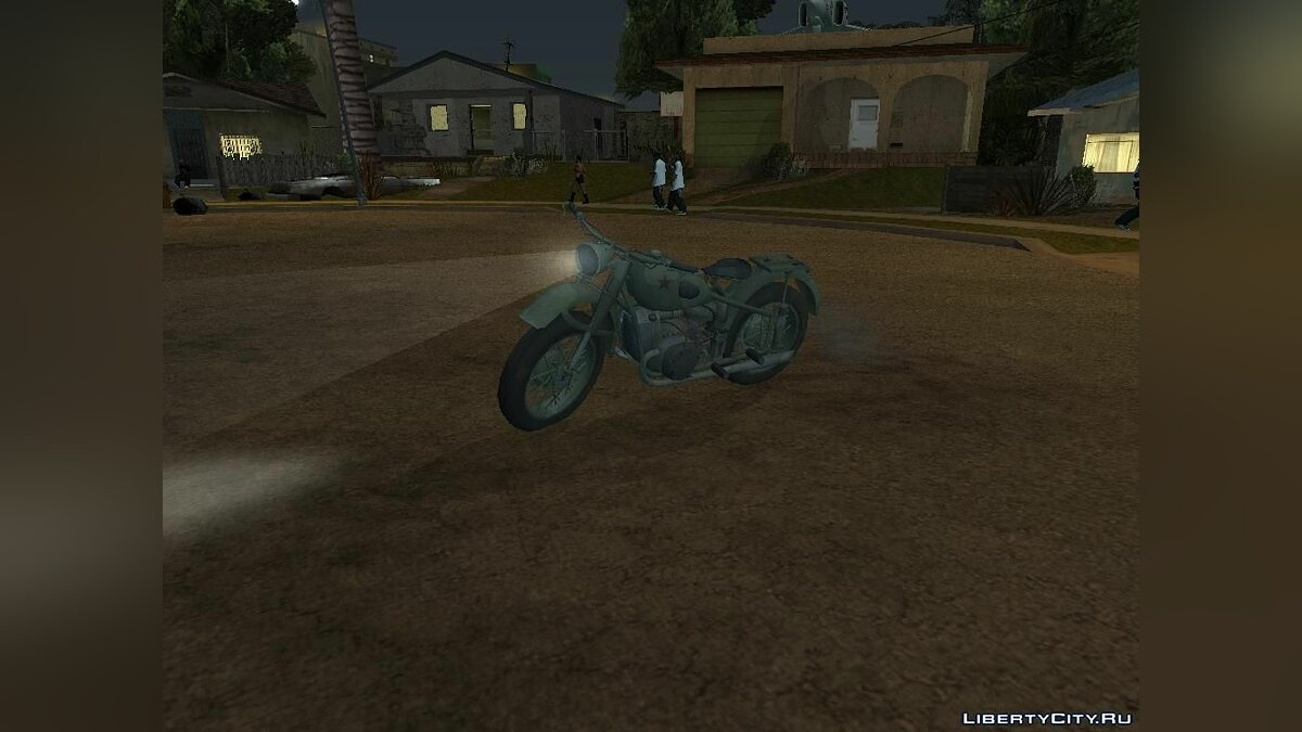 Baik from Vorkuta для GTA San Andreas