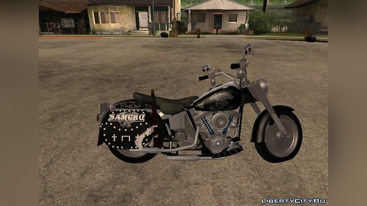 "Harley Davidson Fat Boy ""Sons Of Anarchy"" для GTA San Andreas"