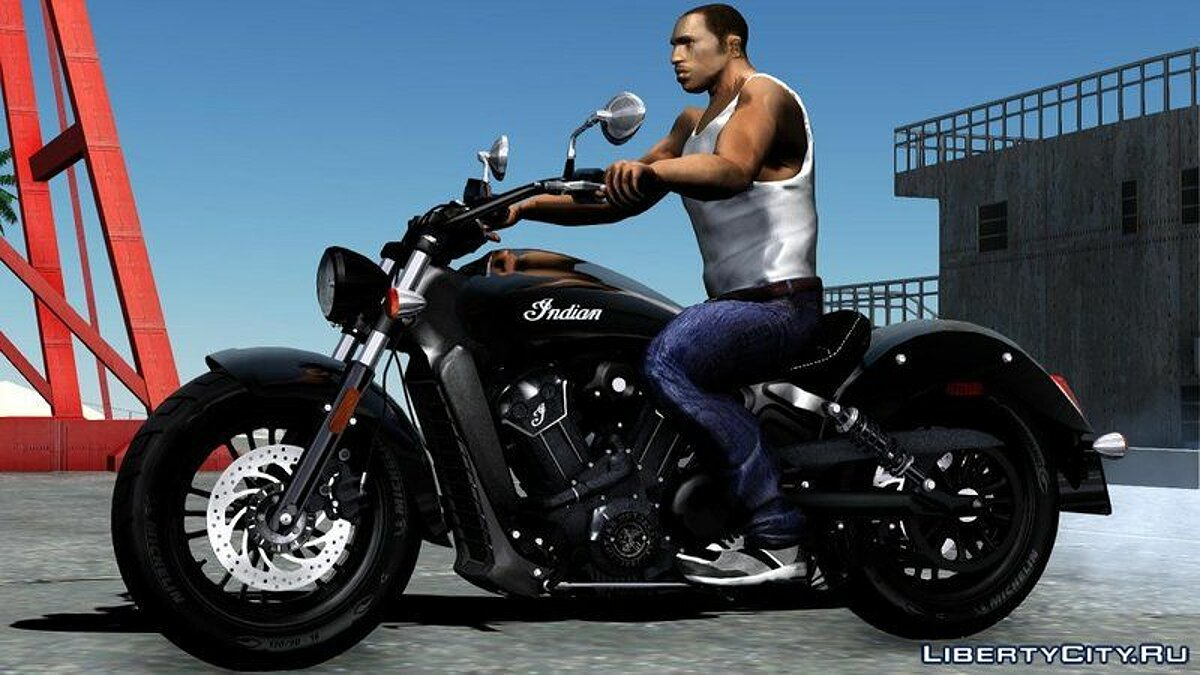 Indian® Scout® Sixty 2018 для GTA San Andreas - скриншот #2